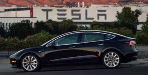 Tesla model 3 first production