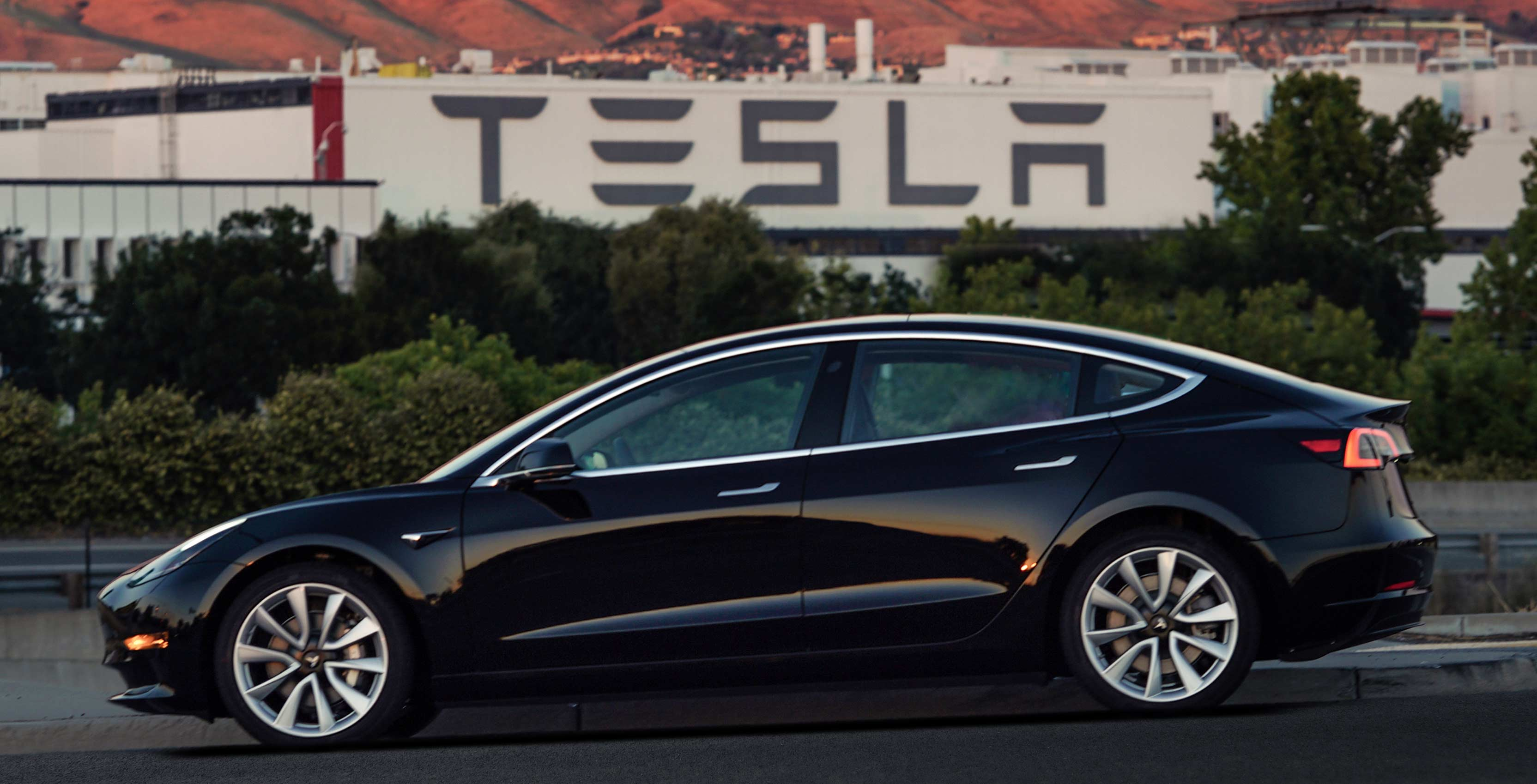 Tesla model 3 first production