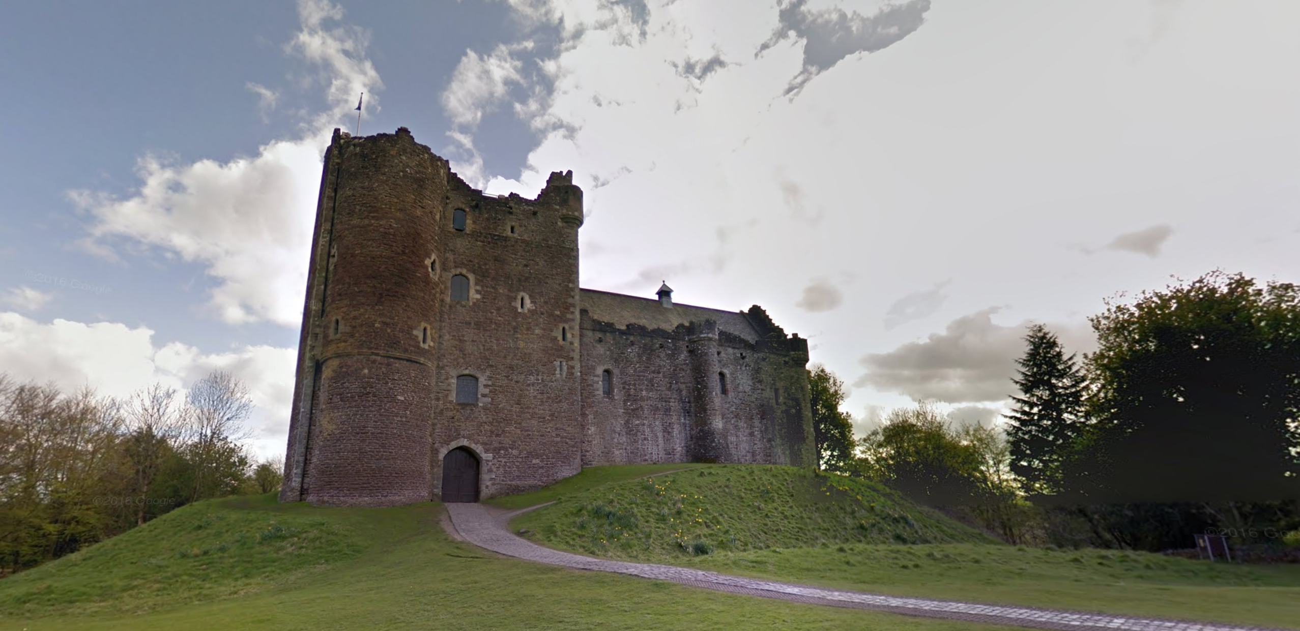 google street view game of thrones location -- winterfell
