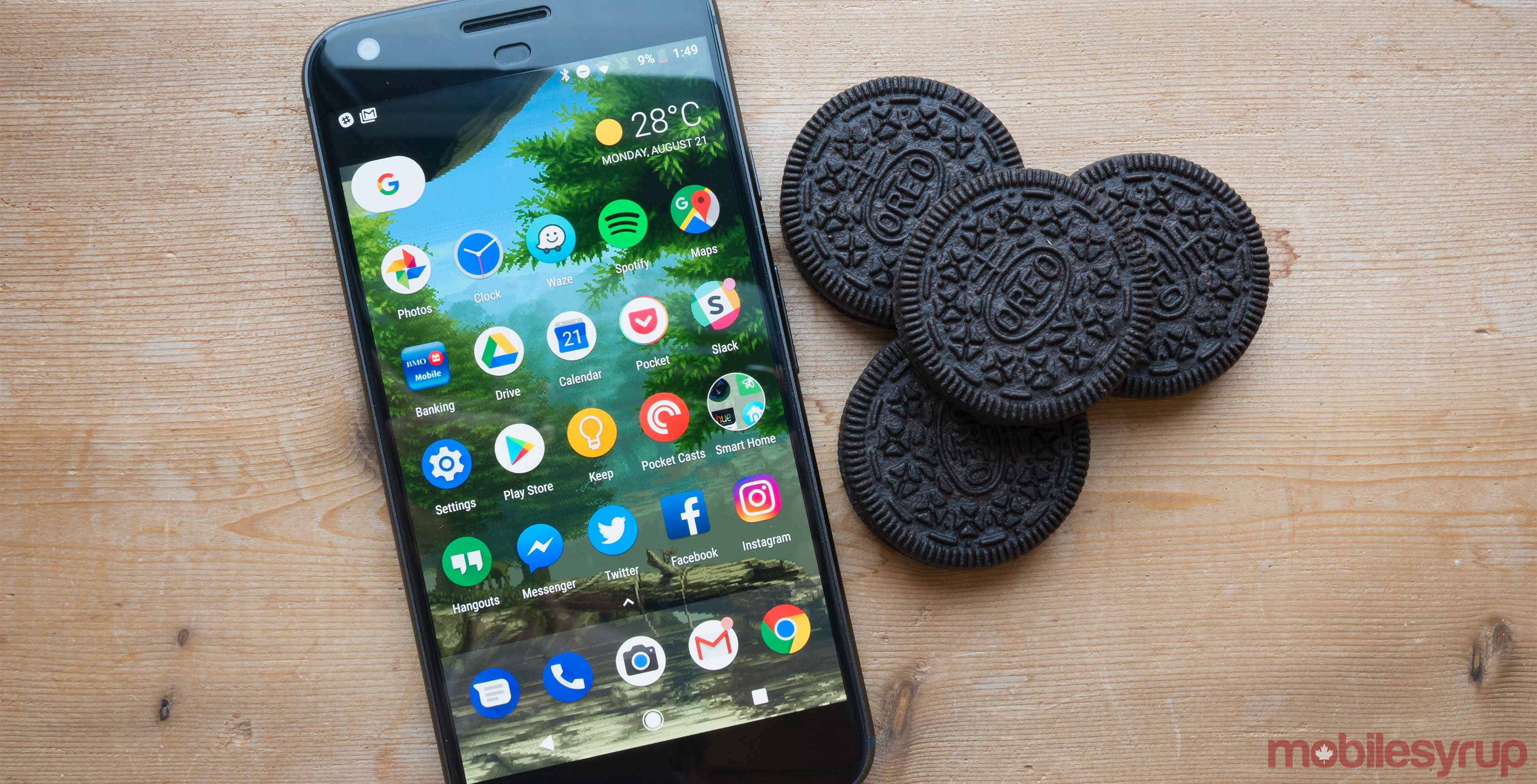 New Android O operating system is delightfully named Oreo