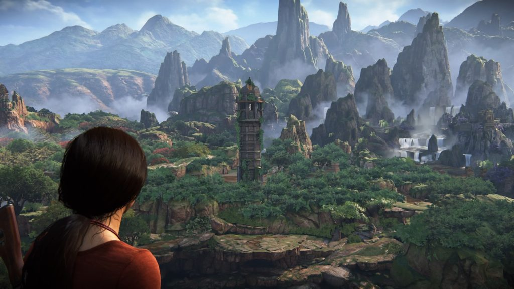 Uncharted The Lost Legacy Chloe in Western Ghats