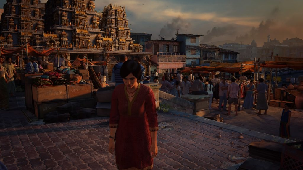 Uncharted The Lost Legacy Chloe in India