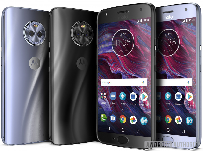 Leaked render of Motorola Moto X4