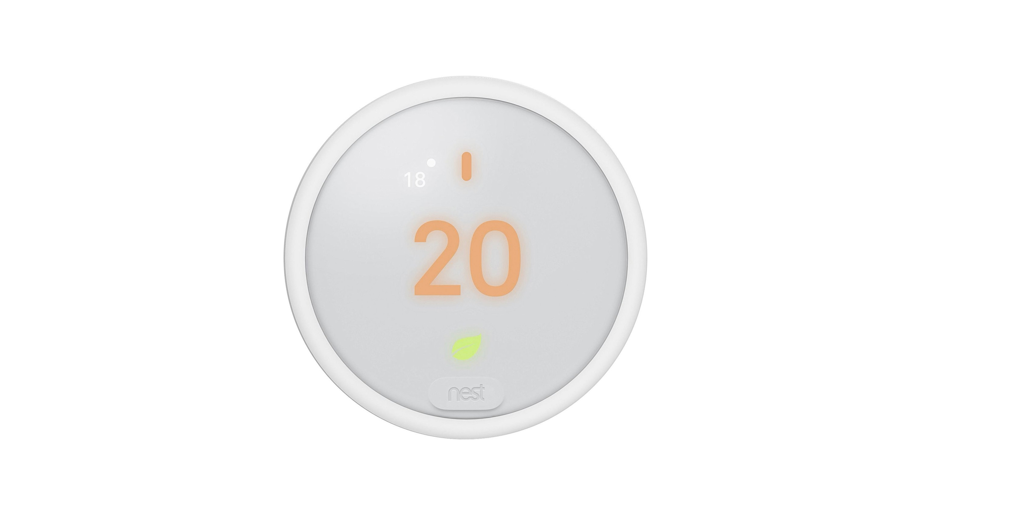 An image showing the leaked Nest thermostat