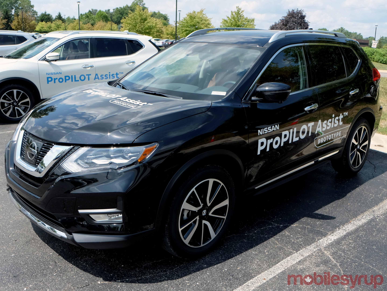 Nissan ProPilot test Rogue