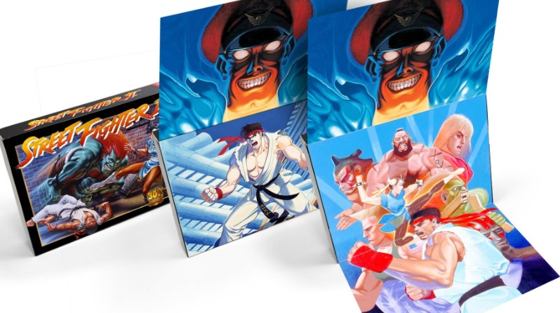 Street Fighter 2 SNES packaging