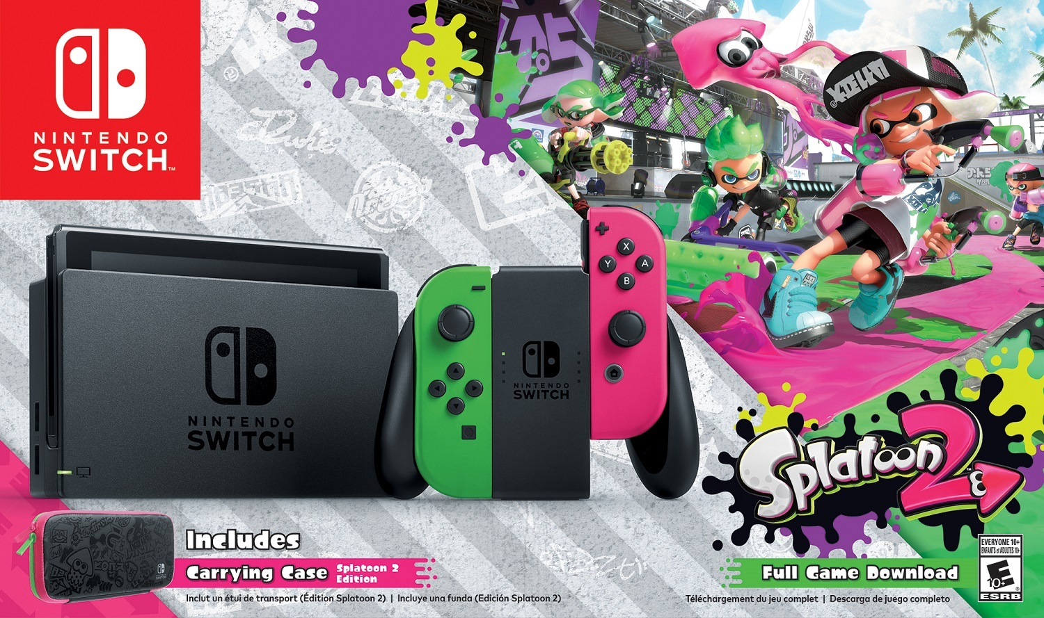 Nintendo Switch Getting New Splatoon 2 Bundle in September; Exclusive to Walmart