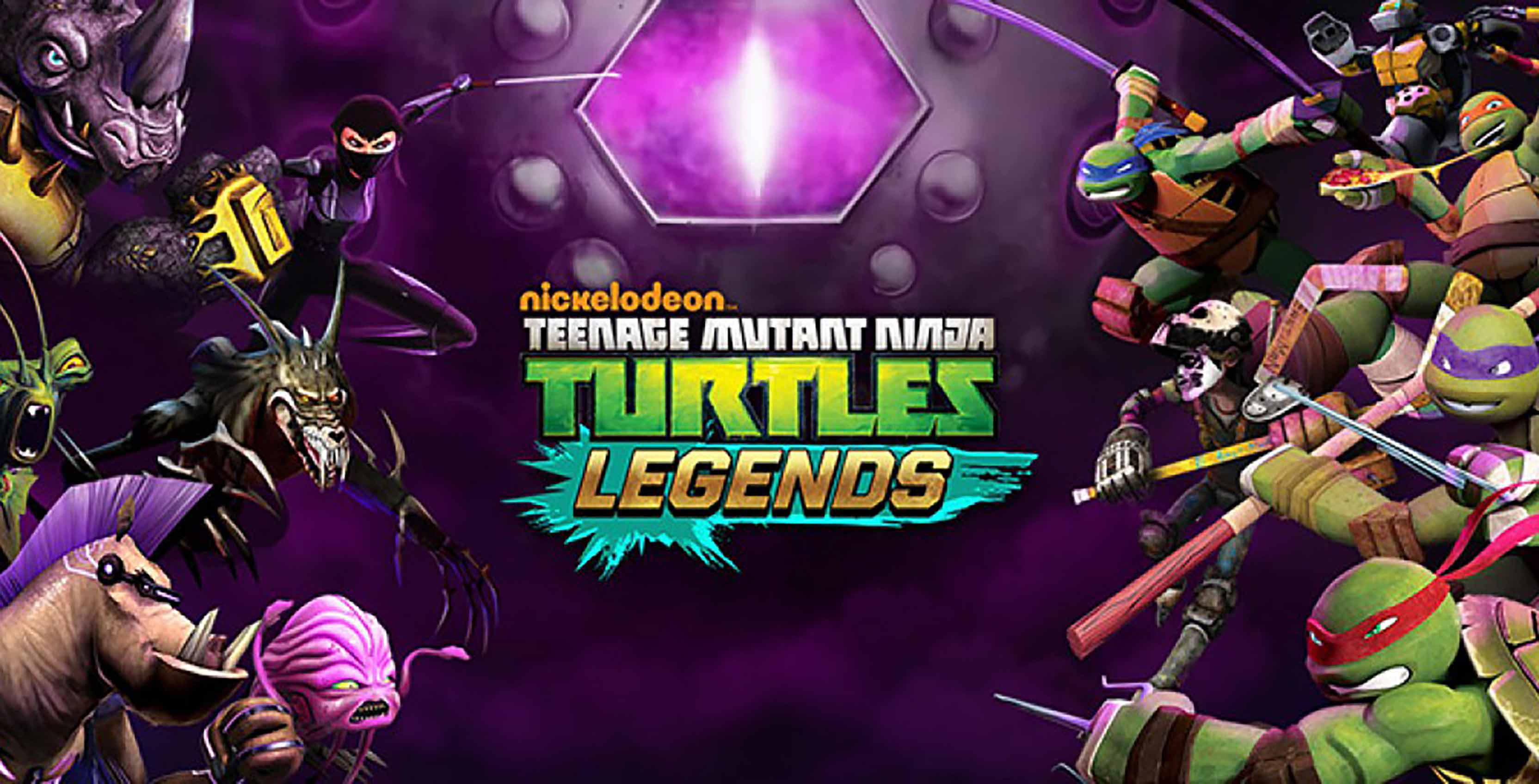 Teenage Mutant Ninja Turtles Legends iOS