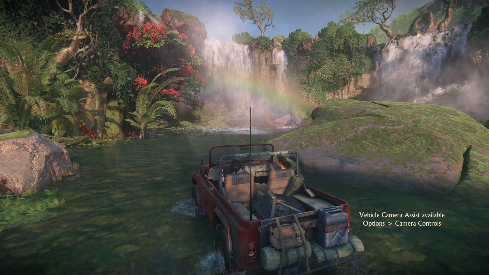 Naughty Dog Developers Discuss Creating The Unique Indian Story And Ps4uncharted Lost Legacy Reg 3 Uncharted Rainbow