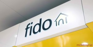 The Fido store front