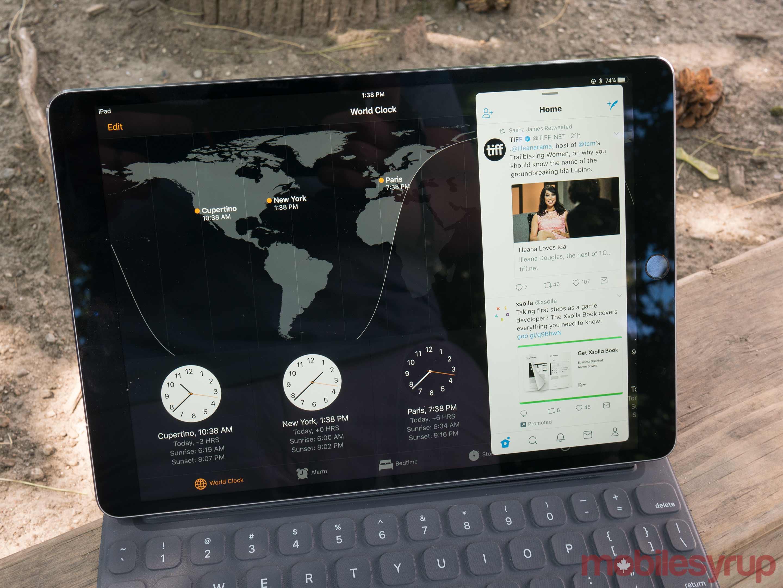 iPad Pro 10.5-inch multitasking