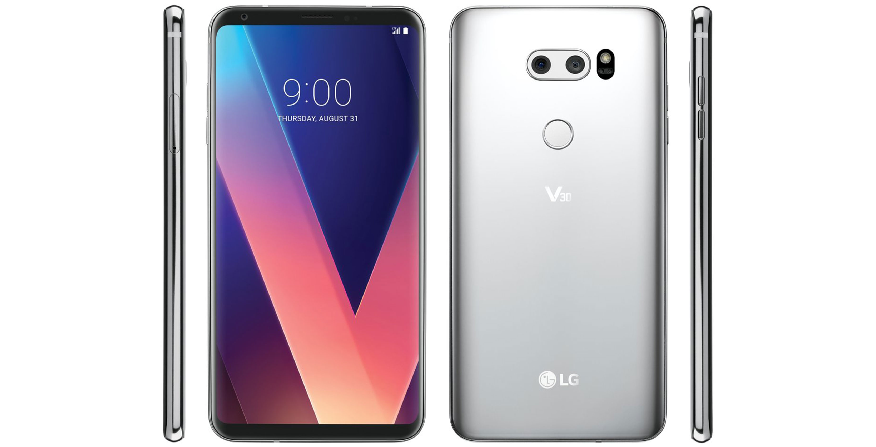 LG V30 live images leak in run up to reveal