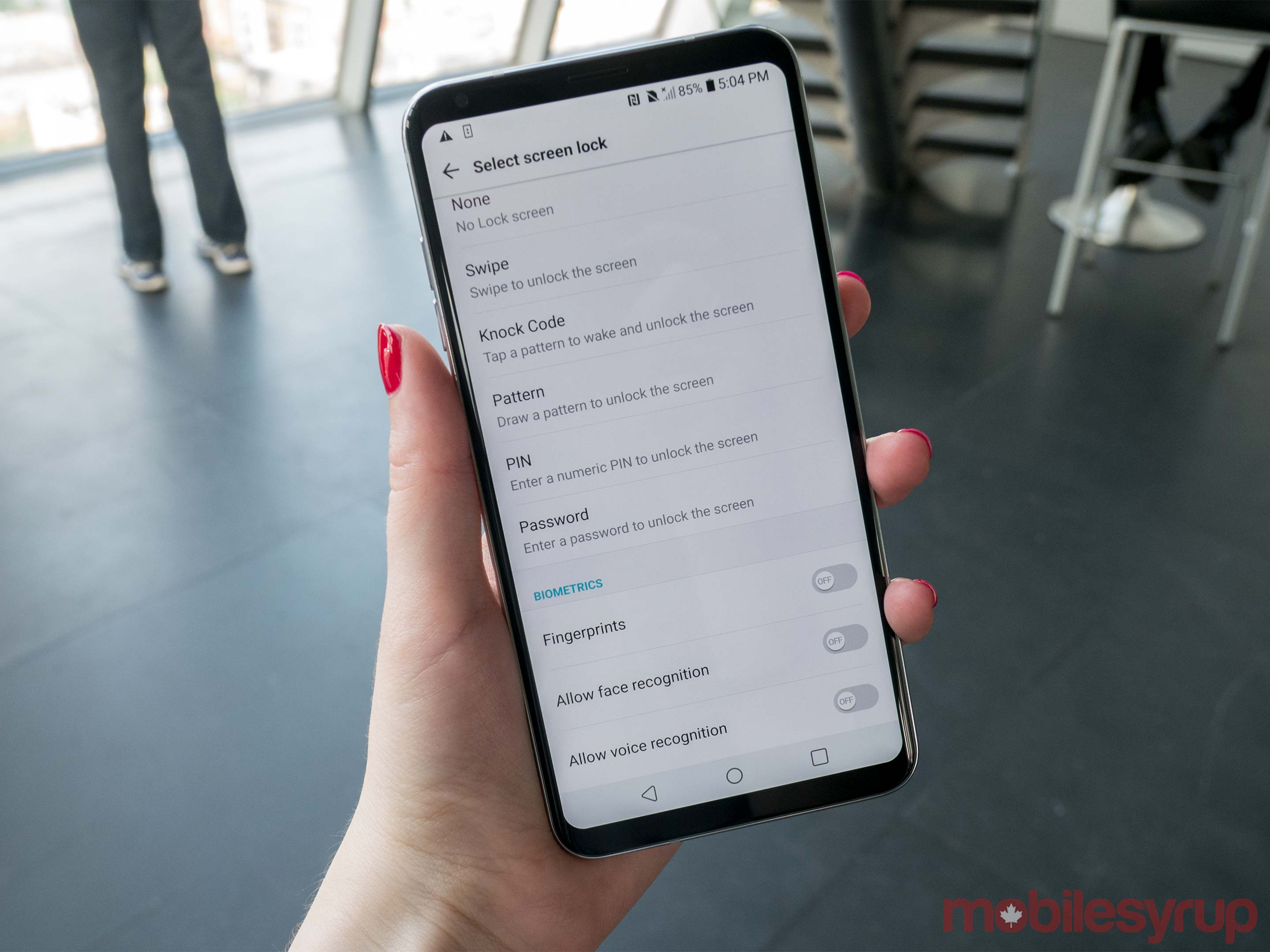 LG V30 Hands-on: Contender for the multimedia crown