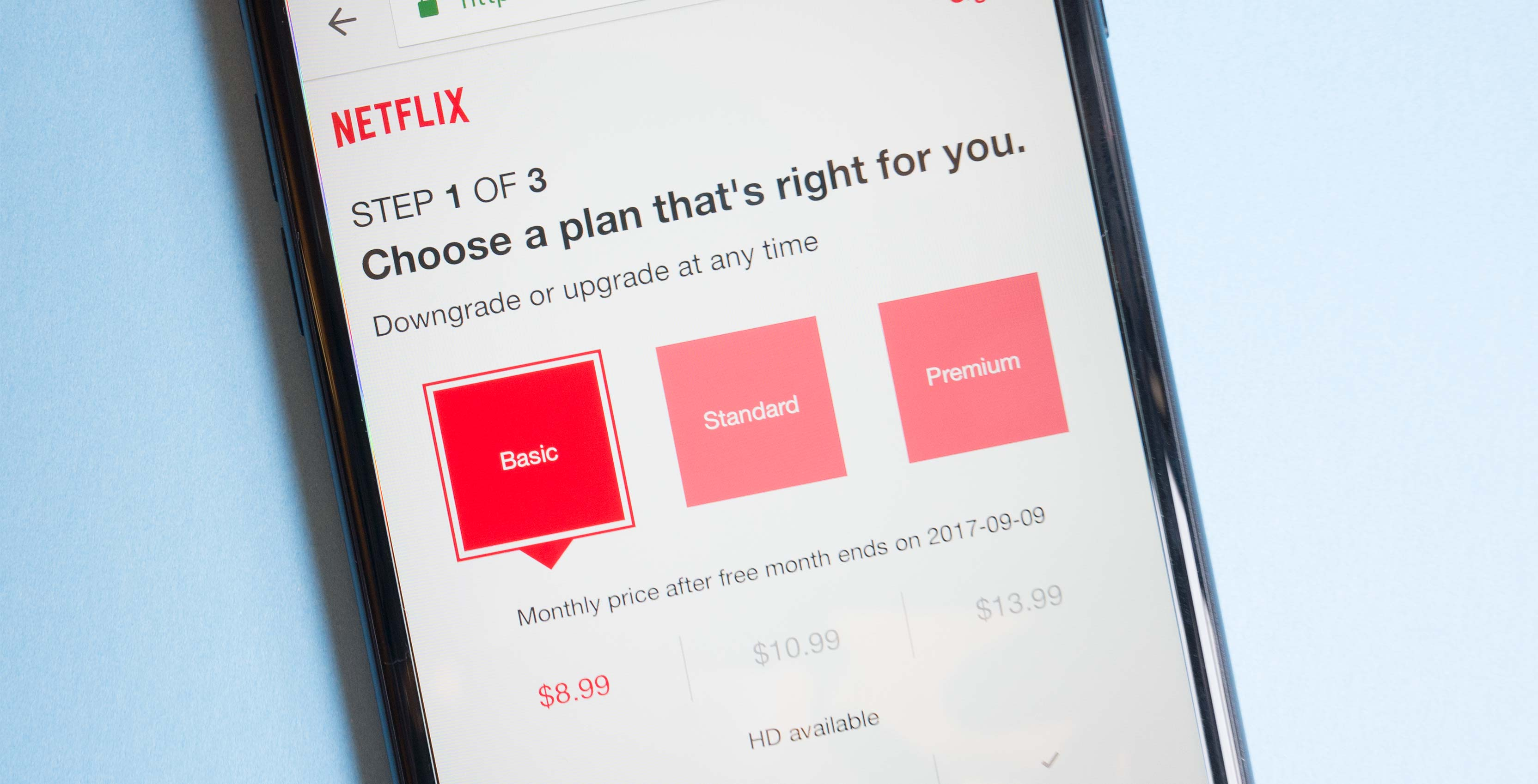 Netflix's monthly subscription price is increasing in Canada