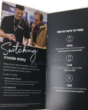 note 8 brochure