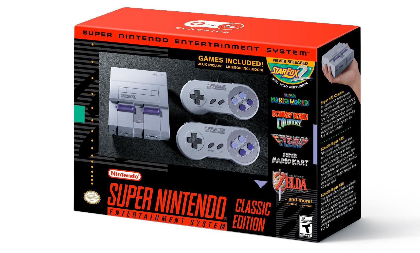 SNES Classic Box
