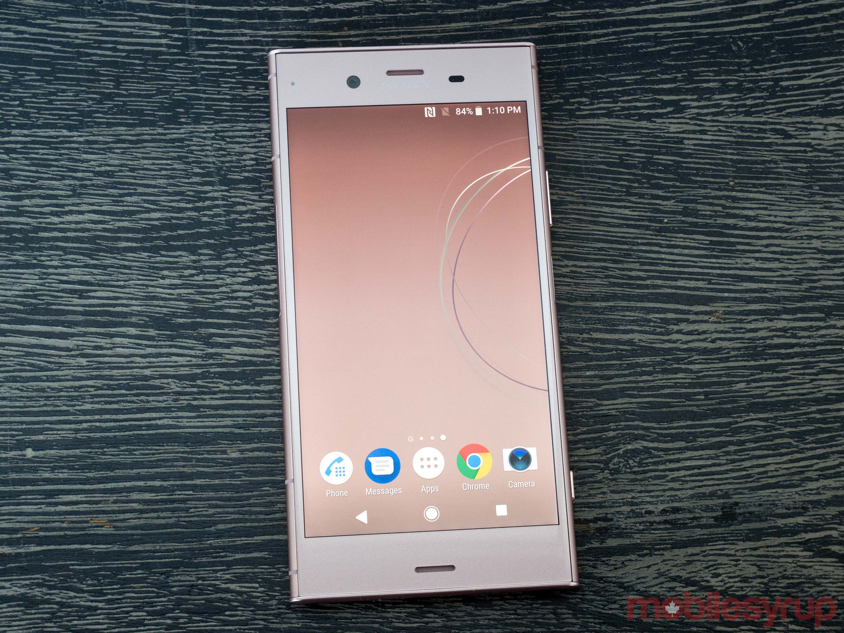 Sony xperia Xz1 in pink