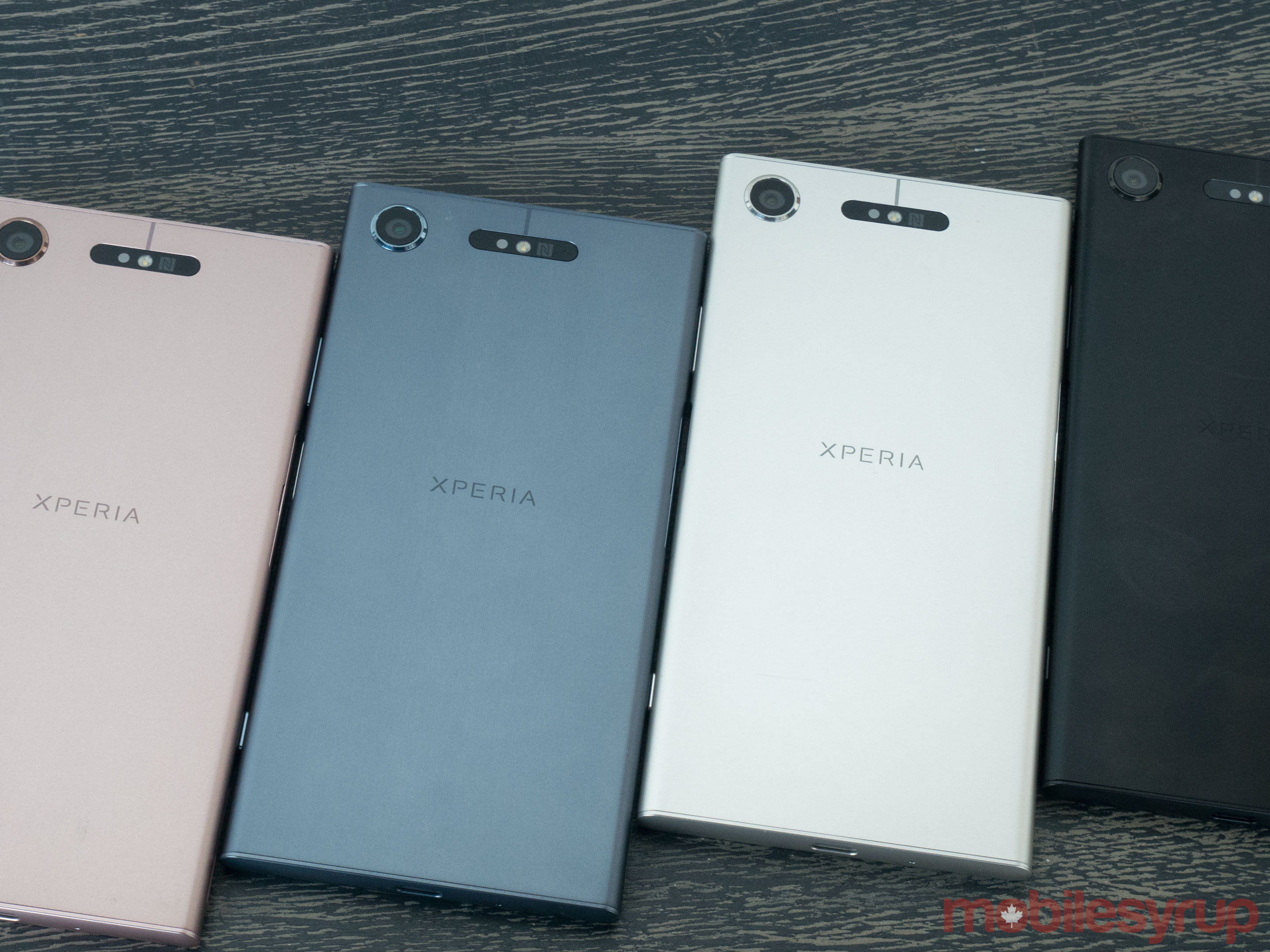Xperia XZ1 in all colours