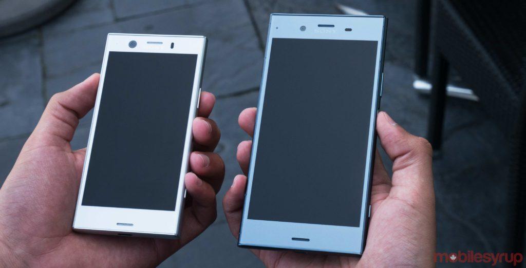 iphone se vs sony xz1 compact