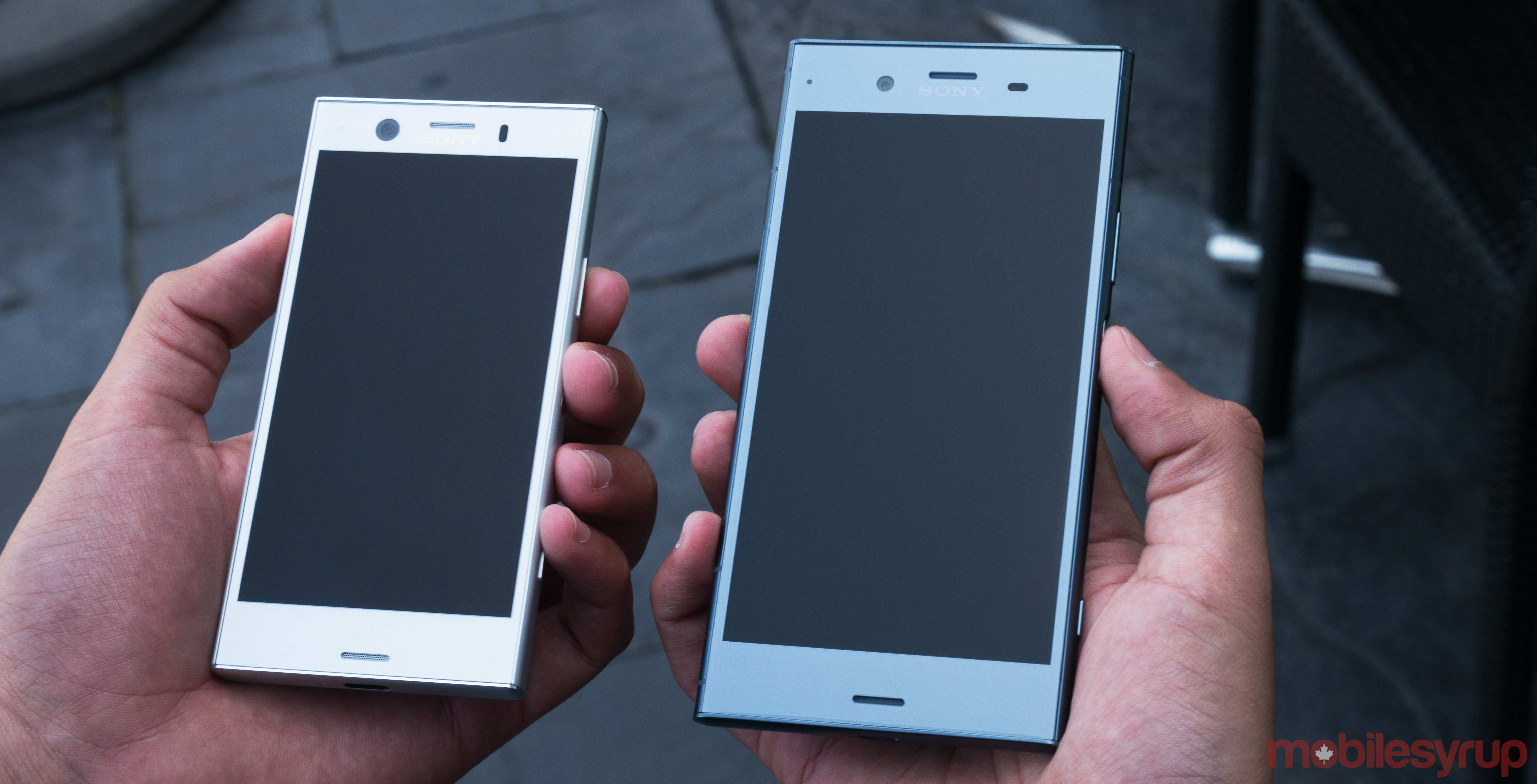 sony xperia xz1 and xz1 compact hands on that same sony style. Black Bedroom Furniture Sets. Home Design Ideas