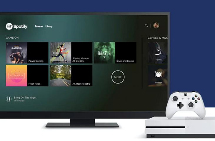 Spotify App Xbox One