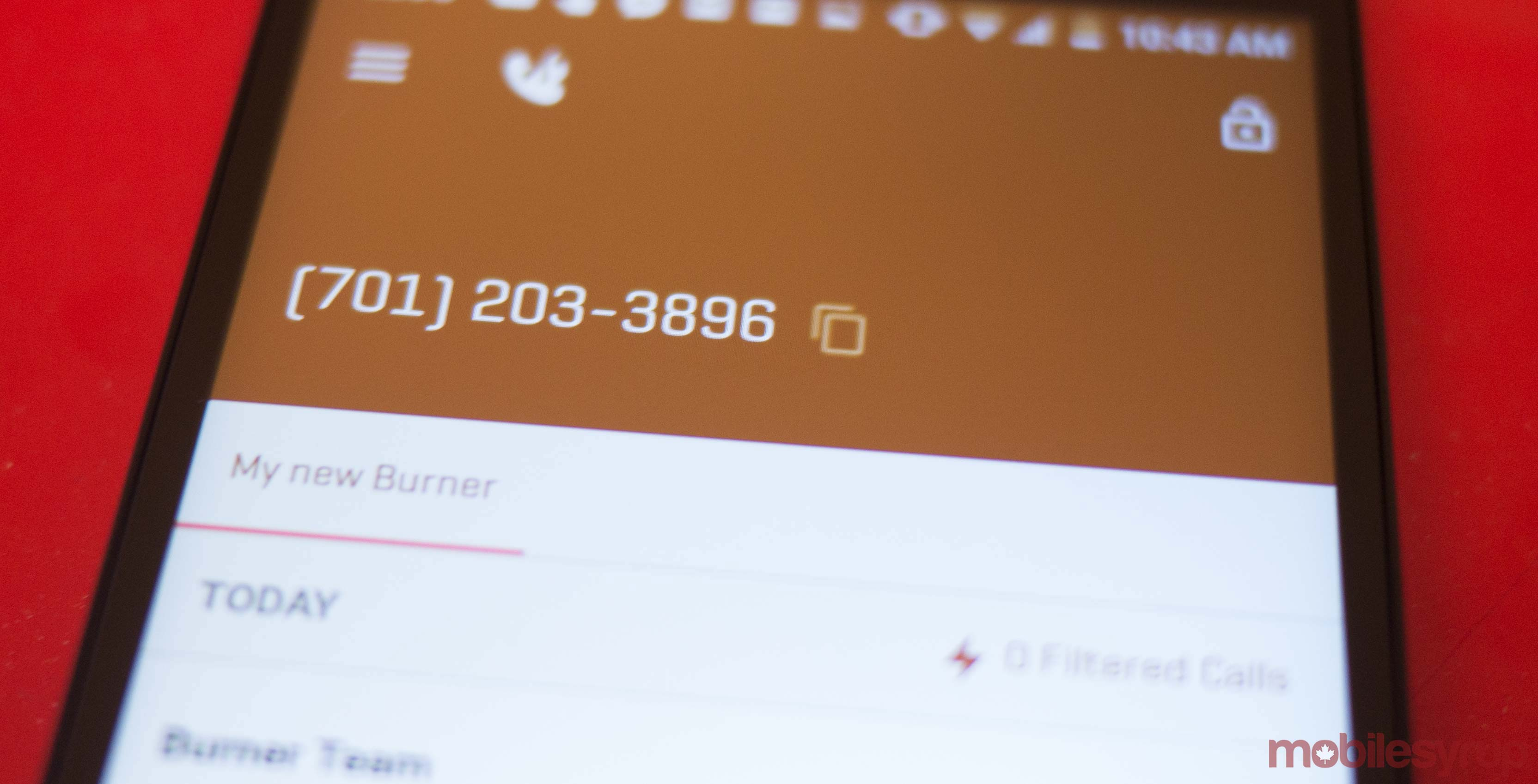 Protect your identity and get a second phone number with Burne