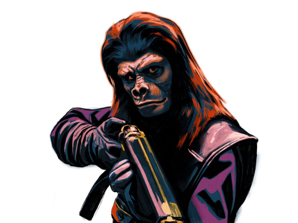 Planet of the Apes art