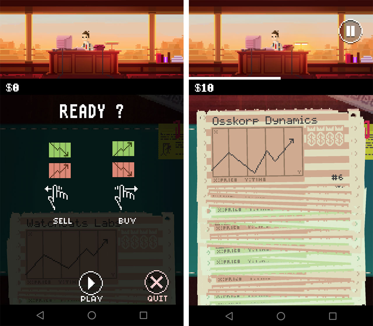 A screenshot of The Firm's gameplay