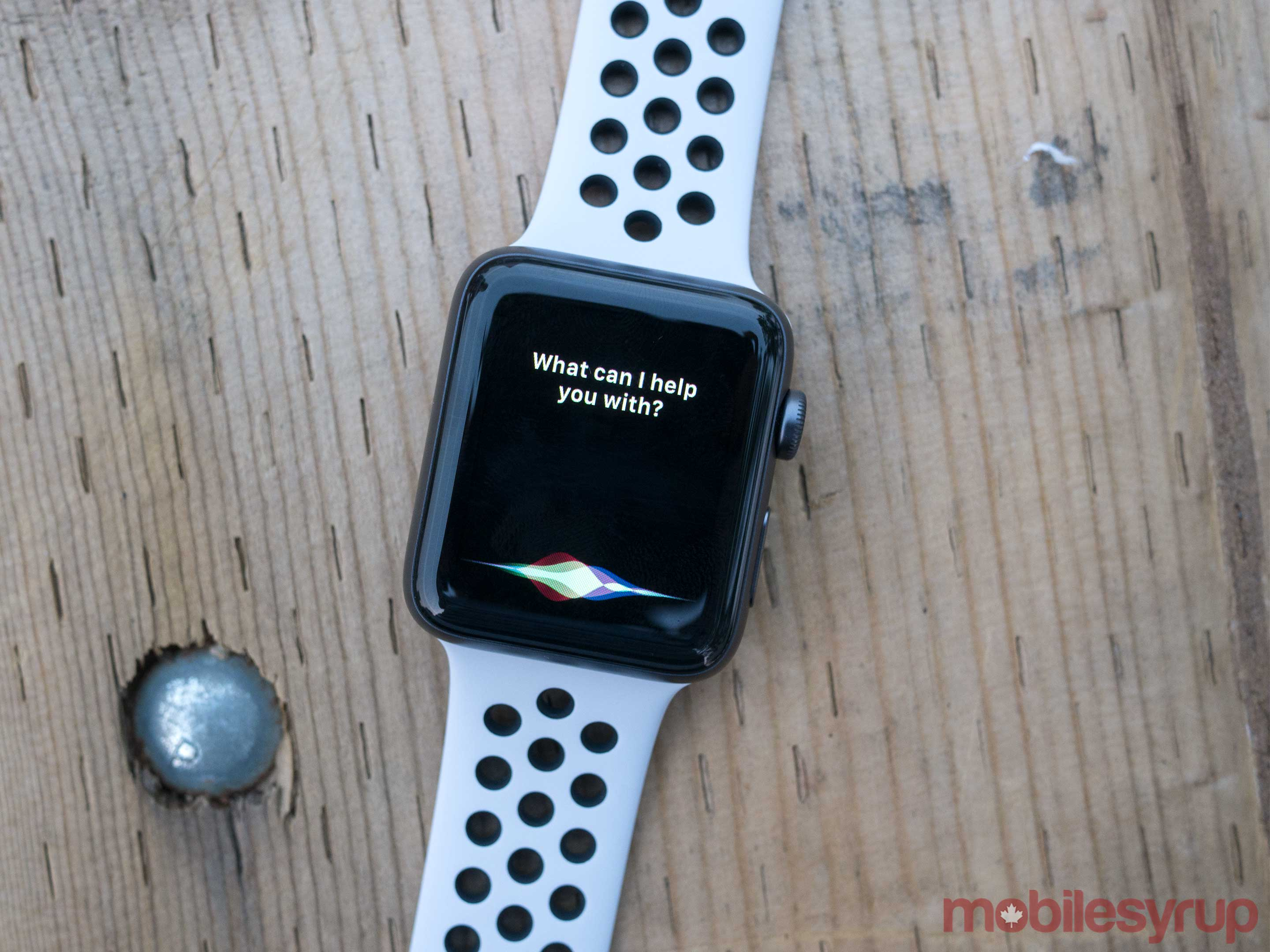 Apple Watch Series 3 Siri