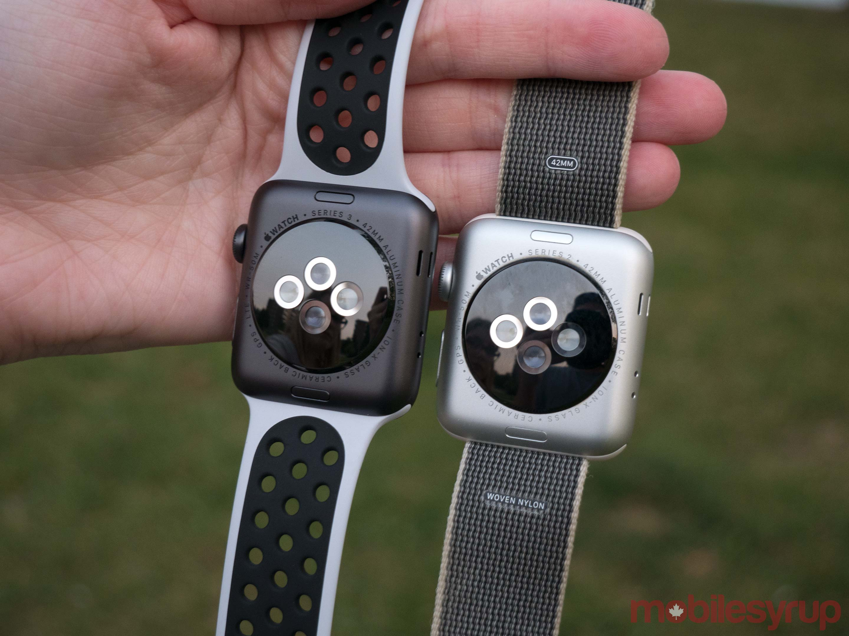 Apple Watch Series 3 vs Series 2