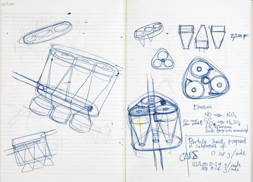 Another image of a Dyson notebook