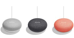 Alleged images of the leaked Google Home Mini