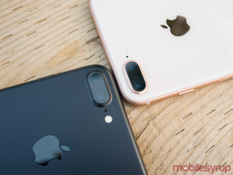 iPhone 7 vs iPhone 8 camera