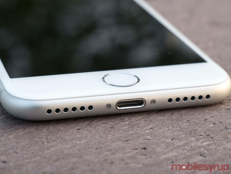 iphone 8 lightning port