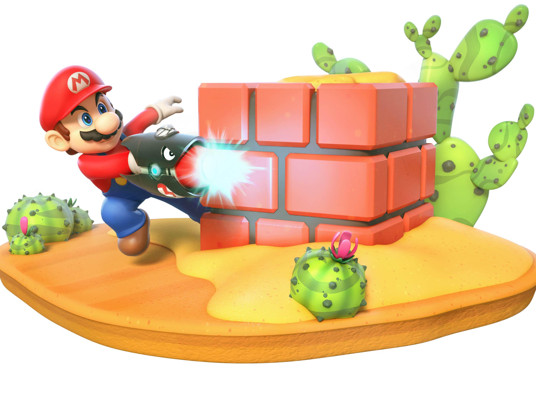 Mario + Rabbids render Mario