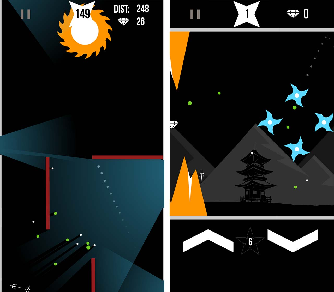 Ninja Stars screenshot