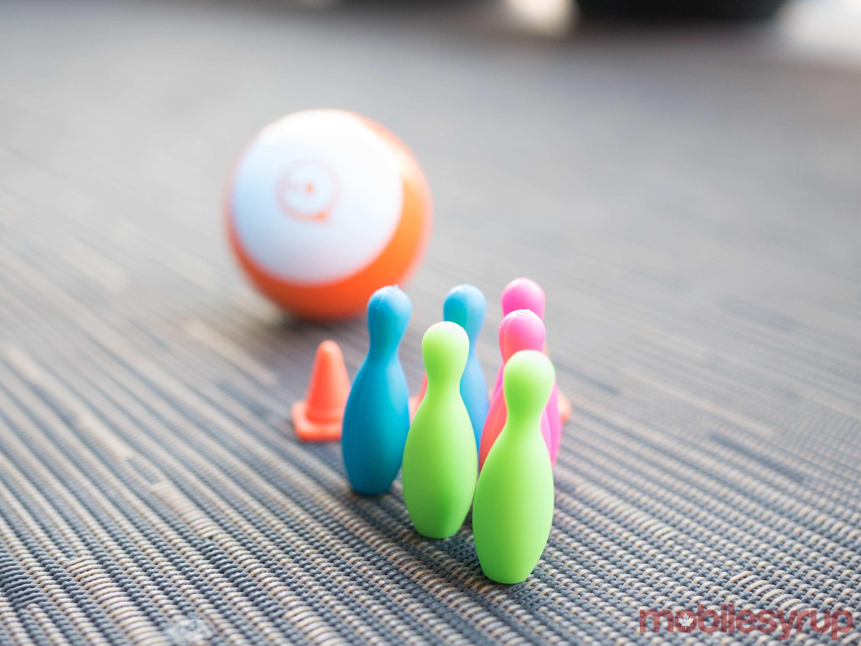 Sphero Mini bowling pins