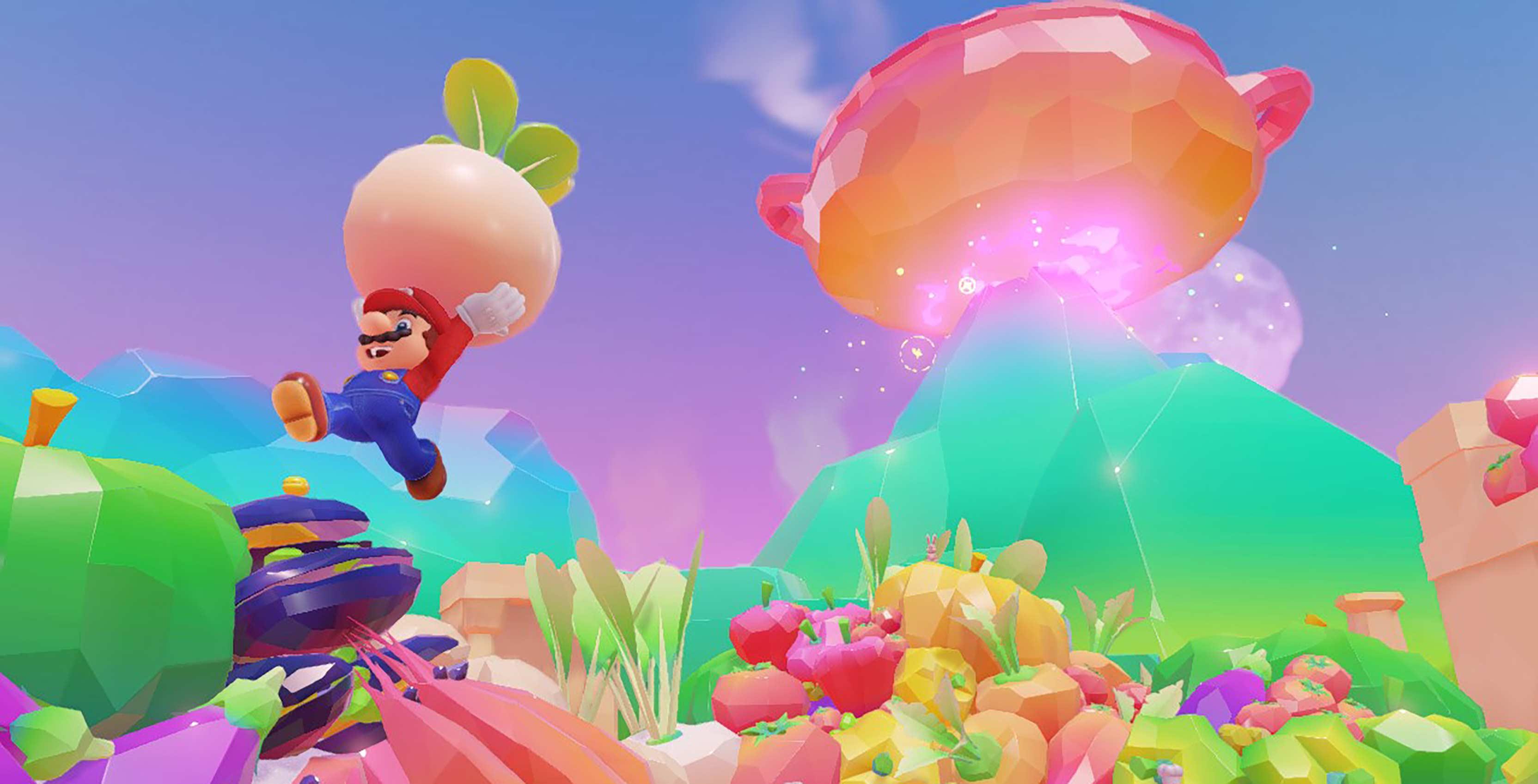 Super Mario Odyssey Mario jumping