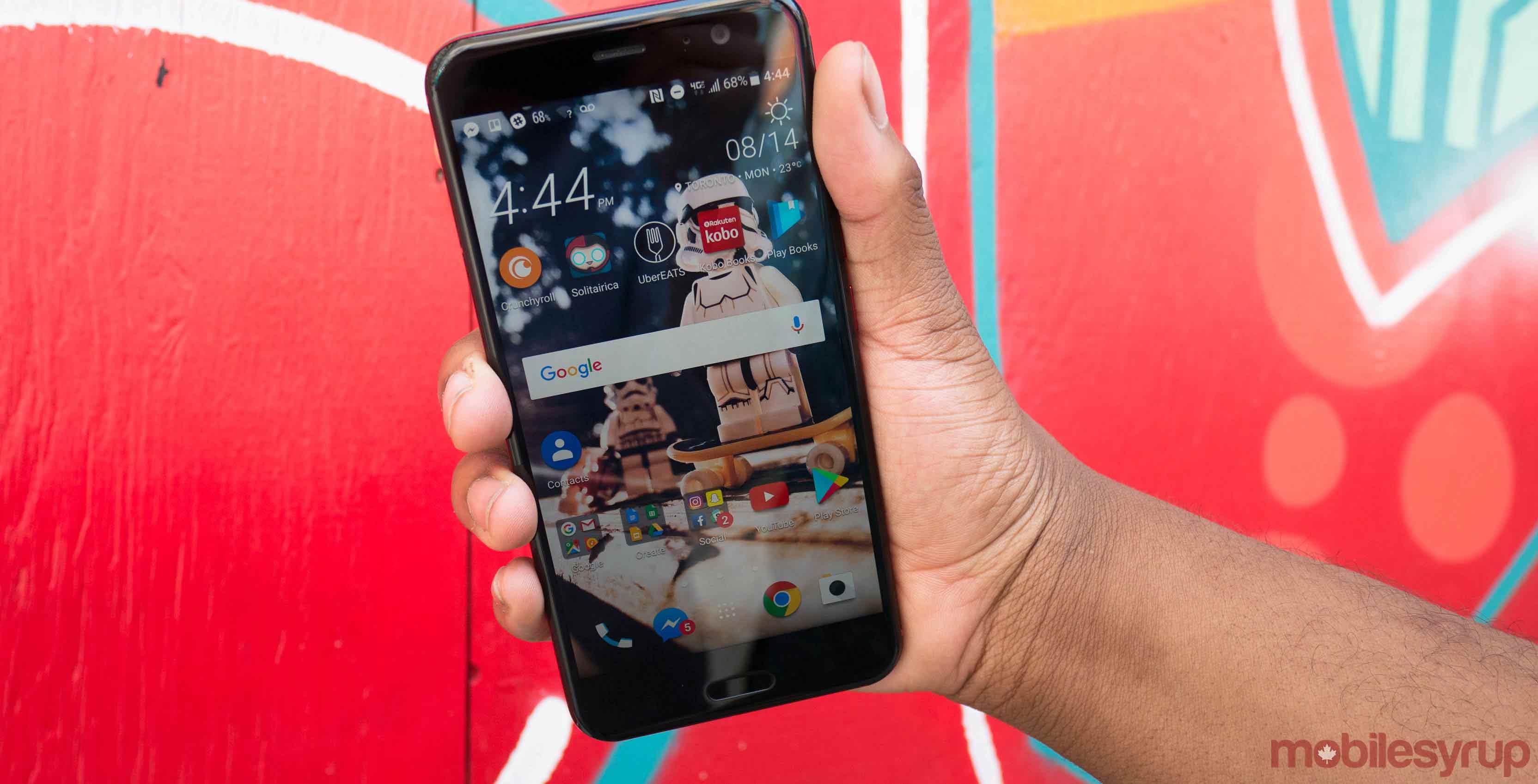 HTC U11 header