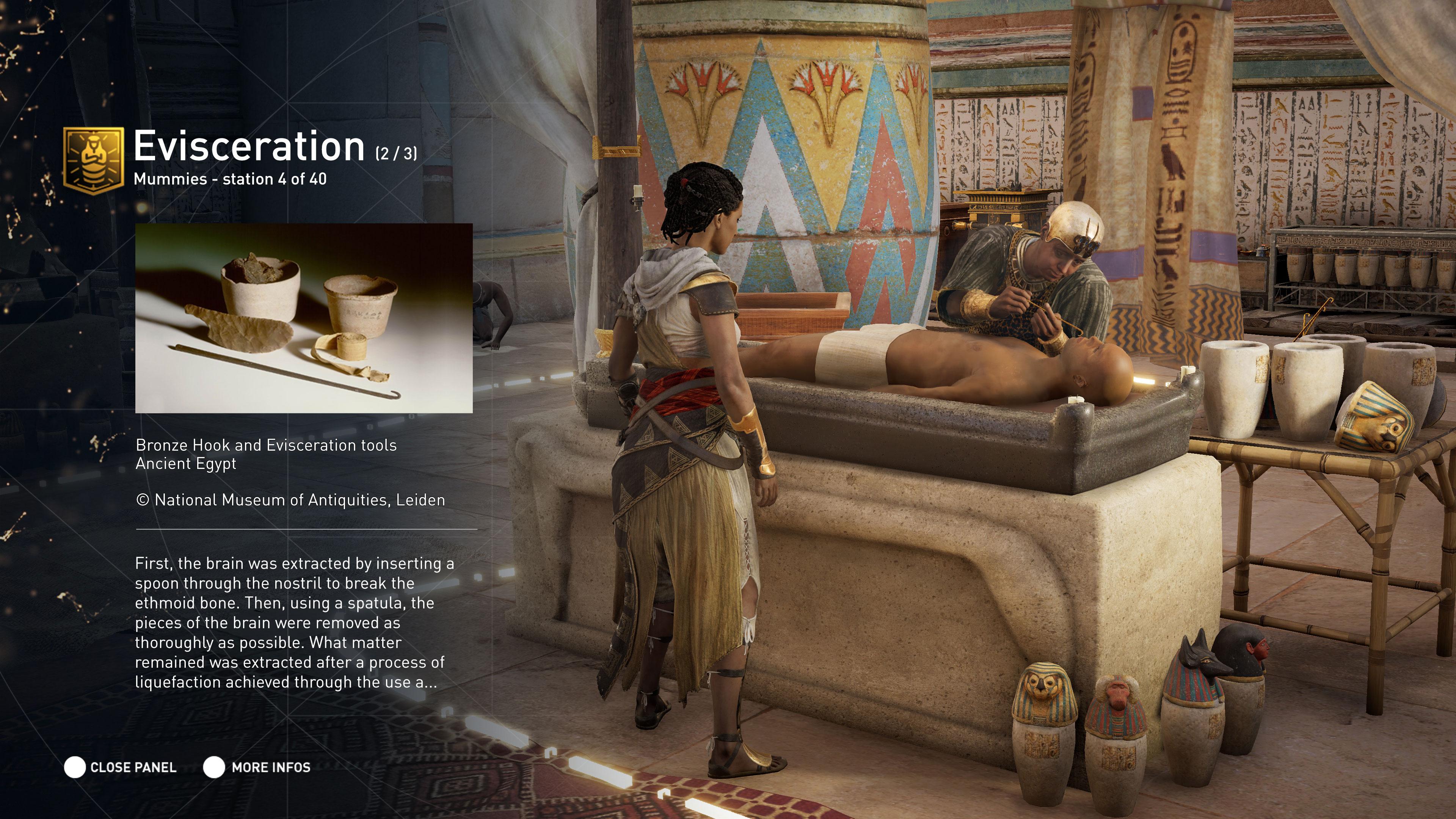 Assassin's Creed Origins Discovery Tour Mode