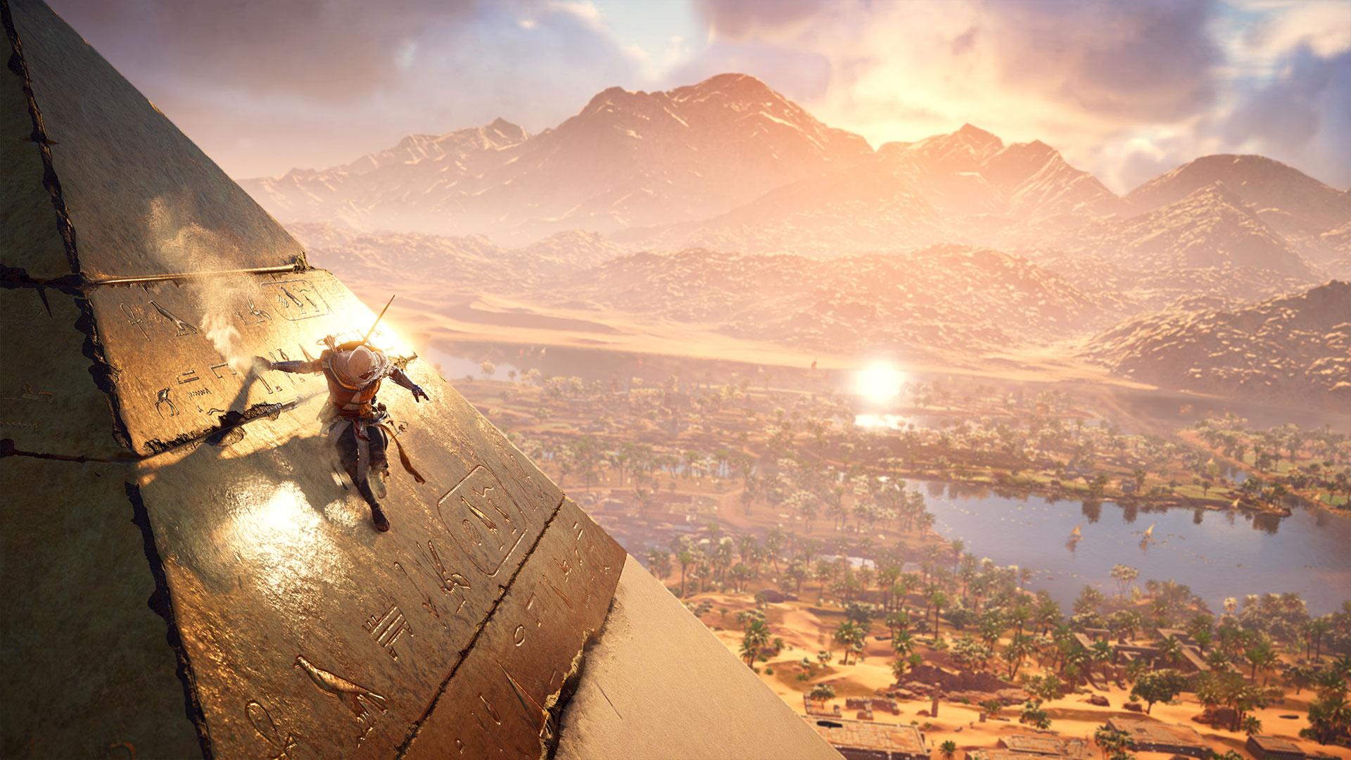 Assassin's Creed: Origins pyramid