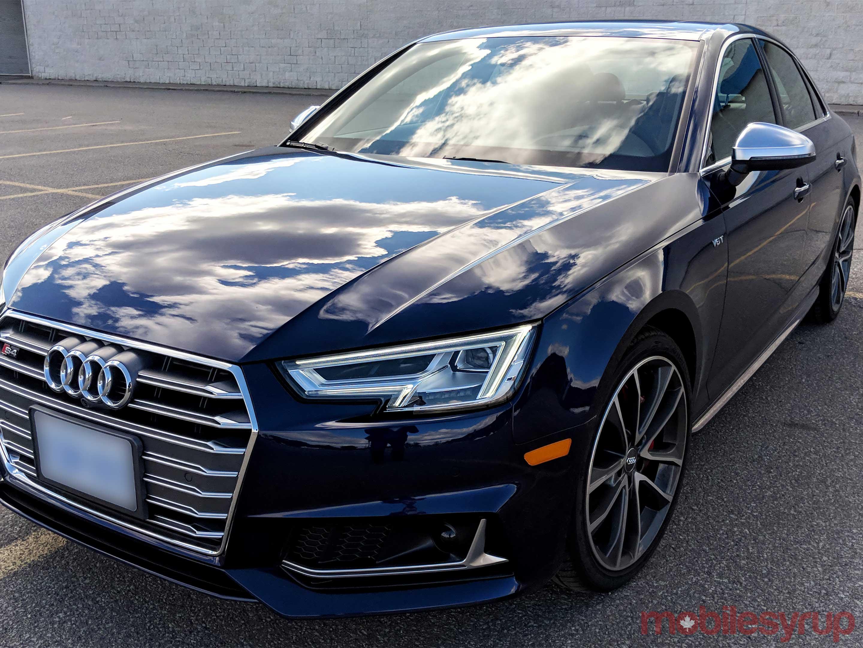 Audi MMI car shot