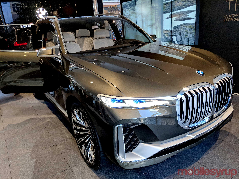 BMW Concept X7 car shot