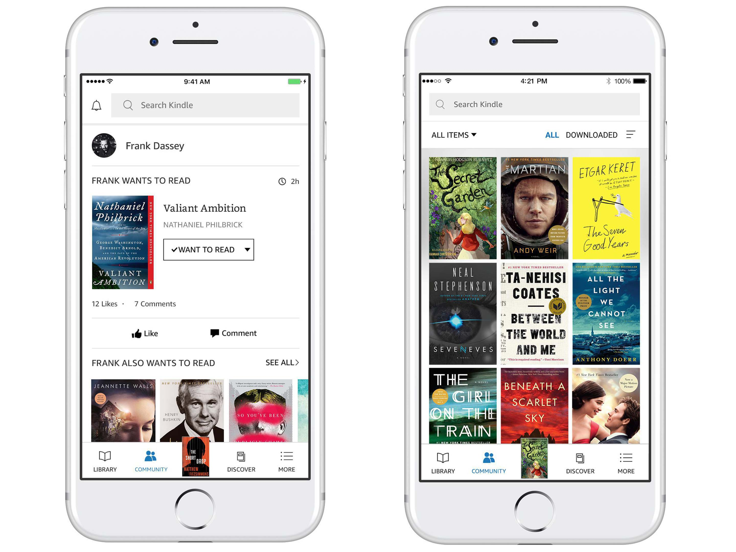 Amazon's Kindle app gets design overhaul, new Goodreads ... - photo#35