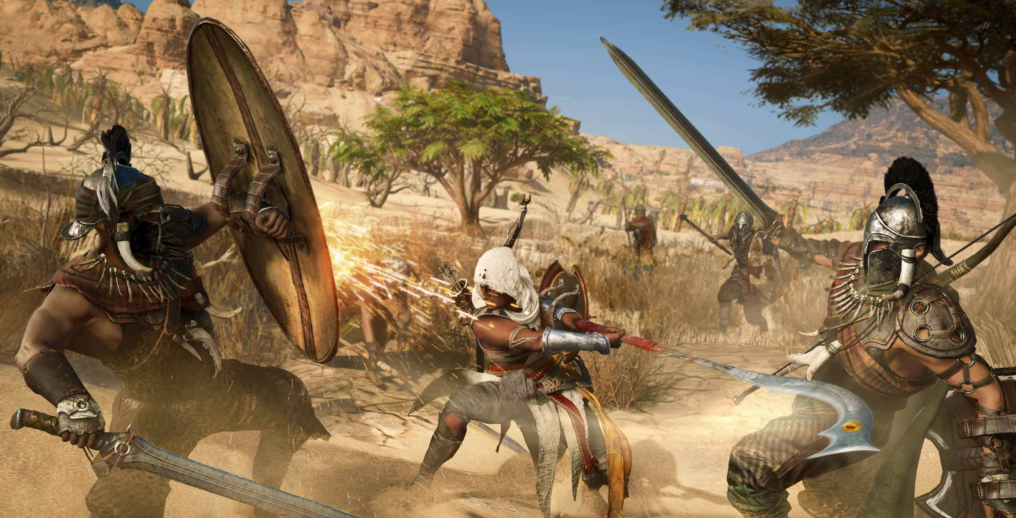 Assassin's Creed Origins combat