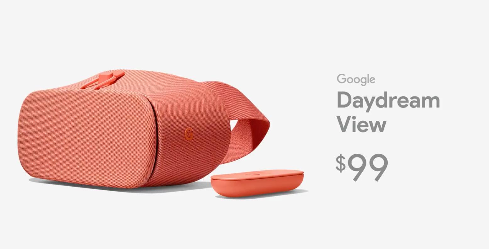 new Google Daydream View