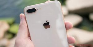 iPhones 8 Plus rear