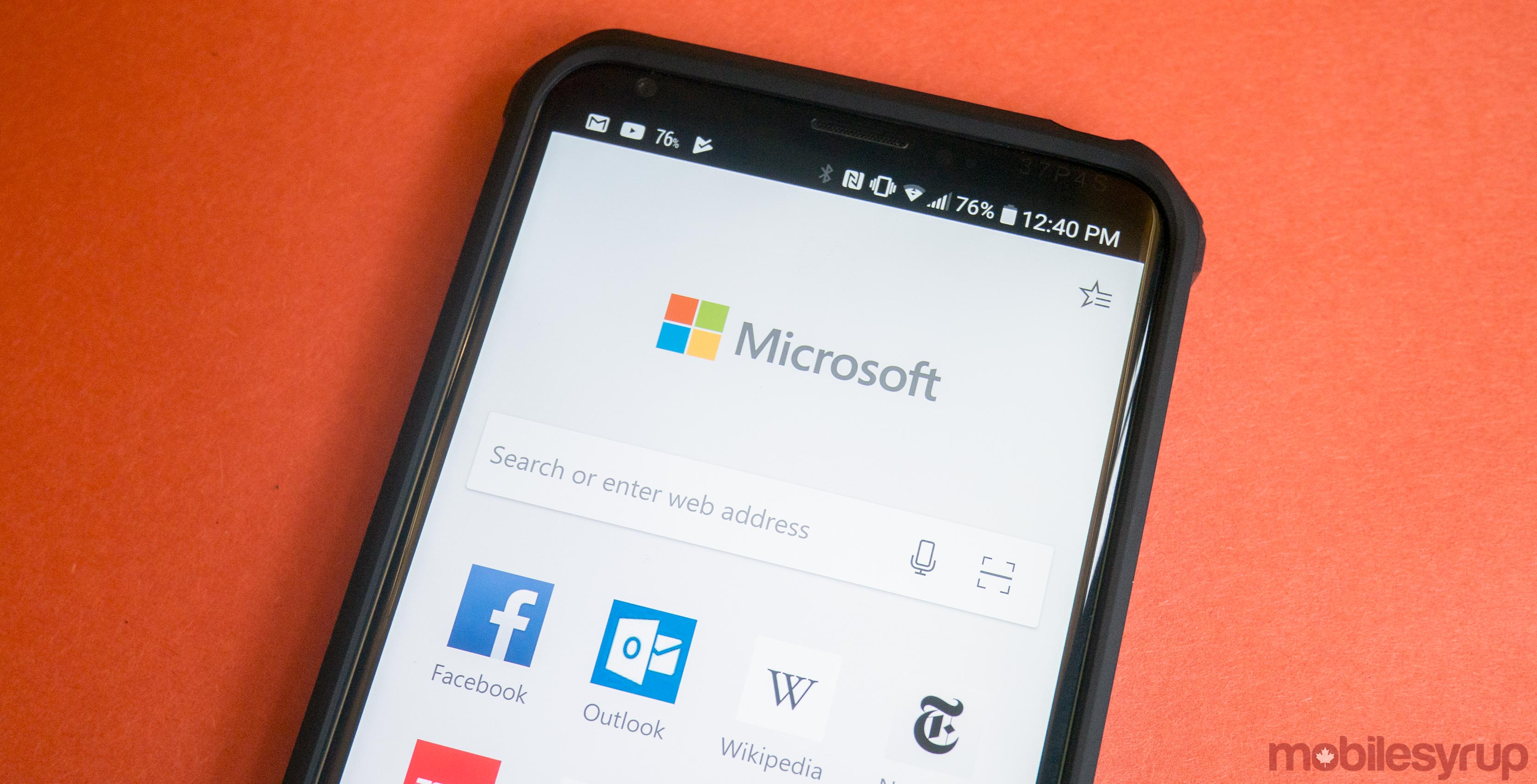 microsoft edge for android beta is now available through play techie buzz