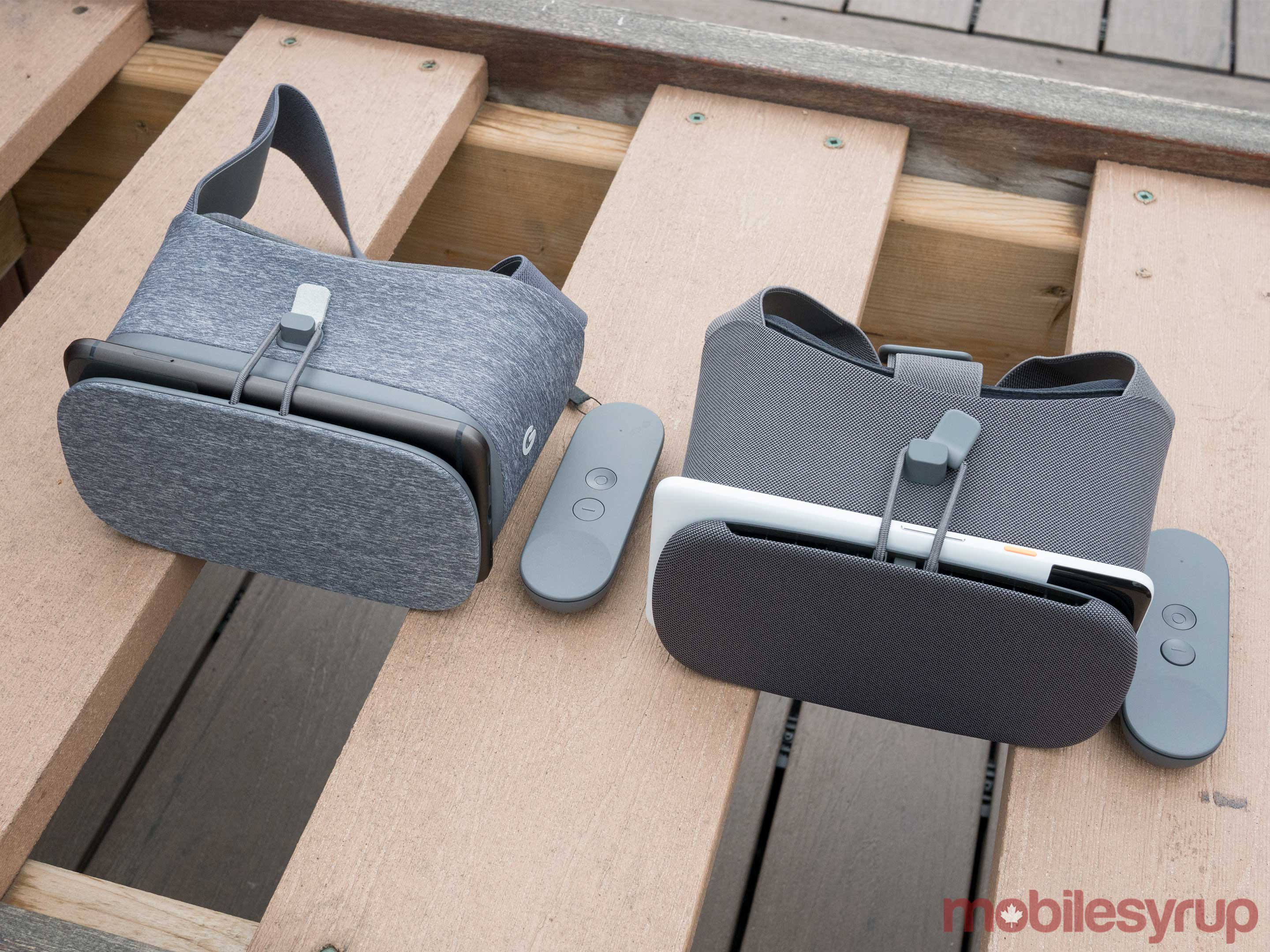 New Daydream View vs old Daydream View