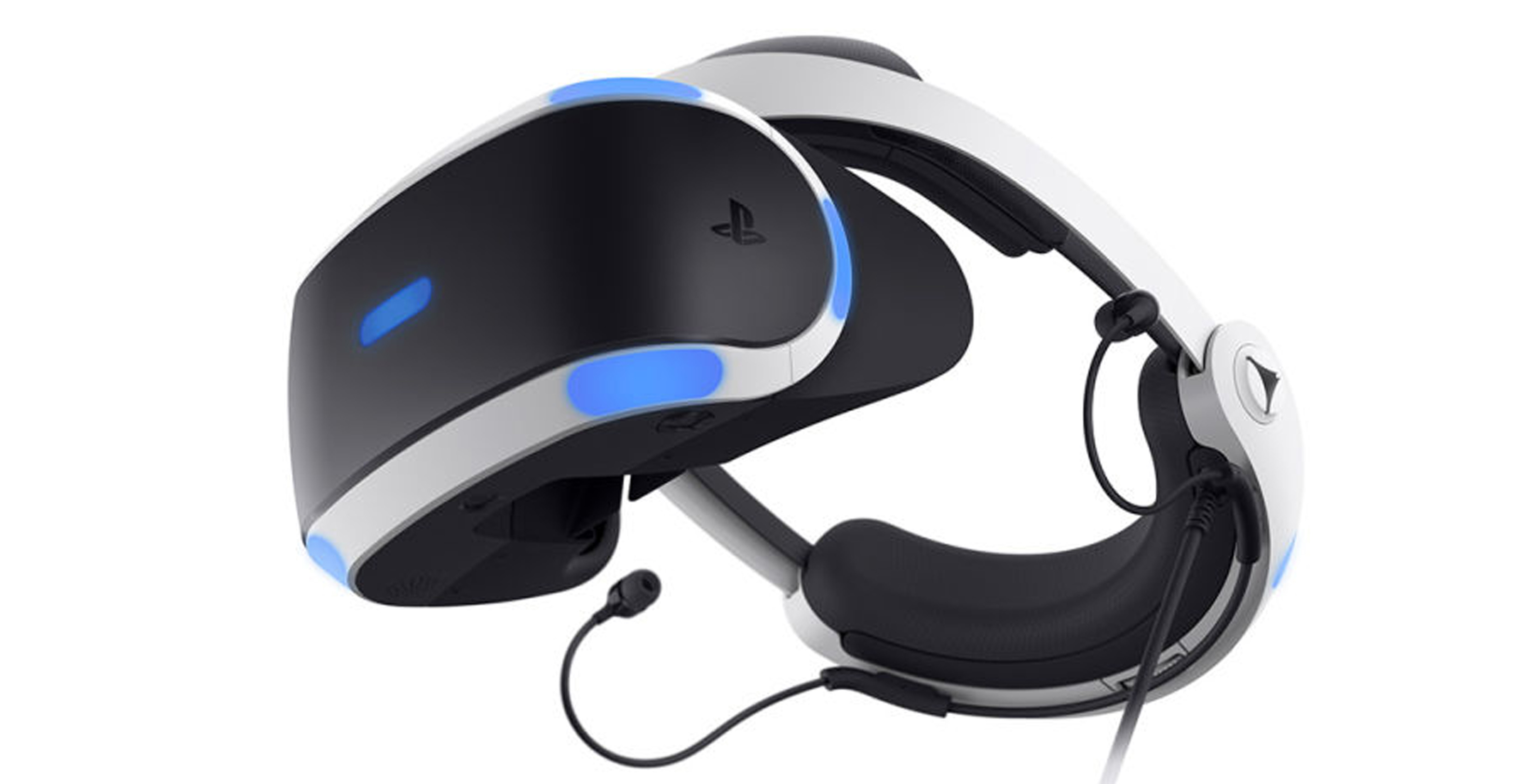 The new PlayStation VR headset features a new design